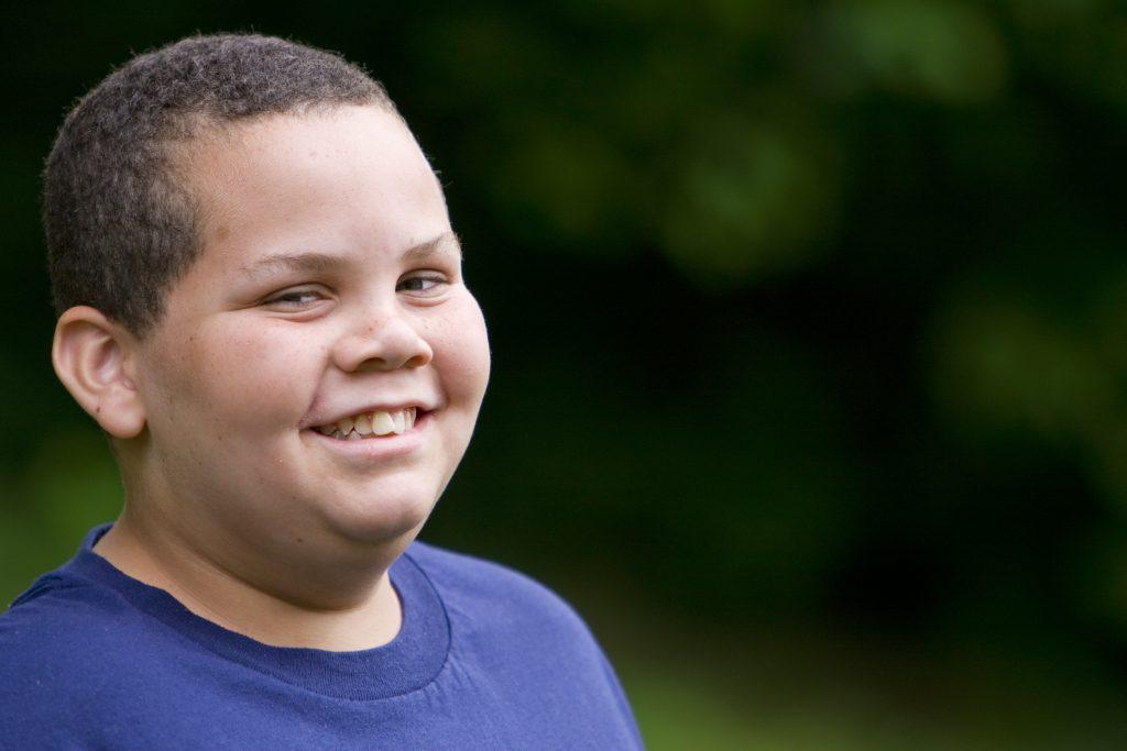 obésité pédiatrique petit garçon
