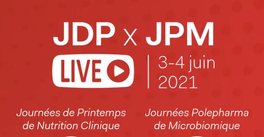 Les Journées de Printemps de Nutrition Clinique (JDP) et les Journées Polepharma de Microbiomique (JDM)
